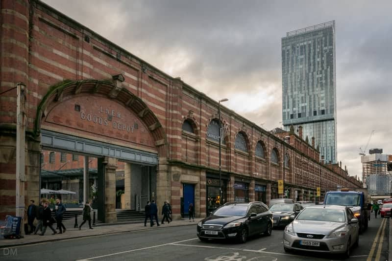 Deansgate Terrace and Beetham Tower, Manchester