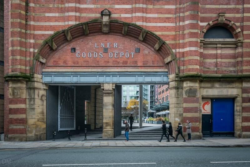 Entrance to Great Northern, Deansgate, Manchester