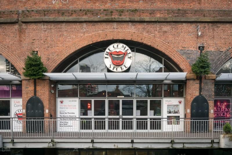 Comedy Store, Deansgate Locks, Manchester