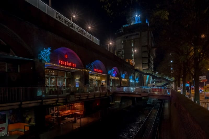 Bars at Deansgate Locks and Rochdale Canal, Manchester