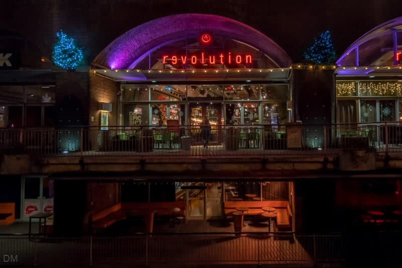 Revolution Bar, Deansgate Locks, Manchester