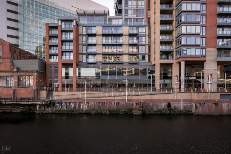 Leftbank apartments, Spinningfields, Manchester