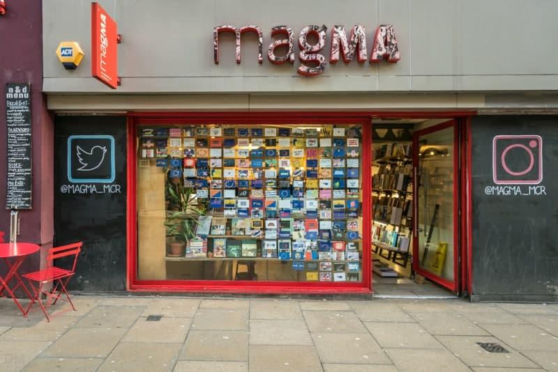 Magma, bookshop on Oldham Street, Manchester