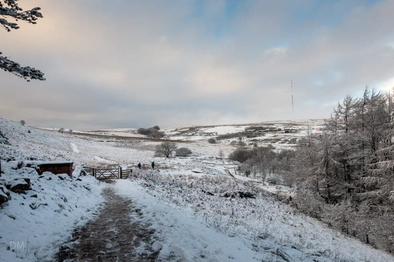 View of Winter Hill from Walker Fold, Bolton