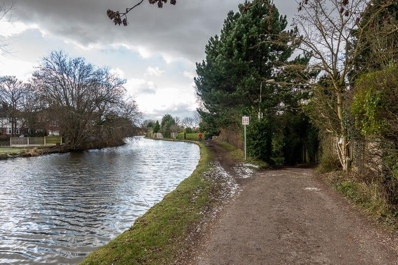 Path to Barrsbank Lane, Lymm