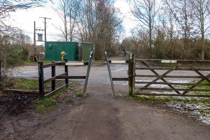Trans Pennine Trail meets Lymmhay Lane