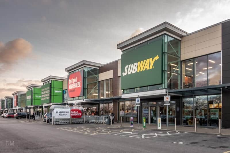 Food Warehouse and Subway, Junction Nine Retail Park, Warrington