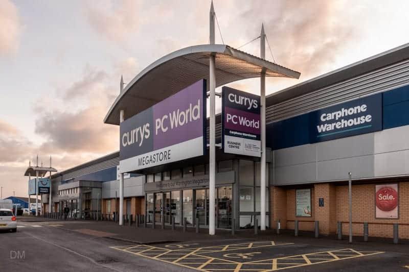 Currys PC World, Junction Nine Retail Park, Warrington