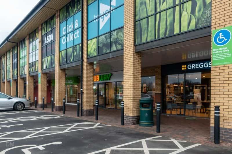 Subway and Greggs, Westbrook Centre, Warrington