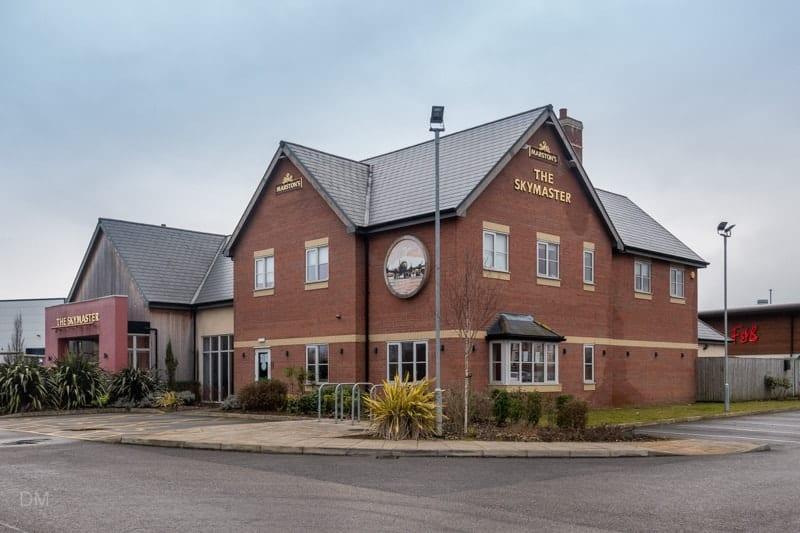 The Skymaster pub, Apollo Park, Warrington