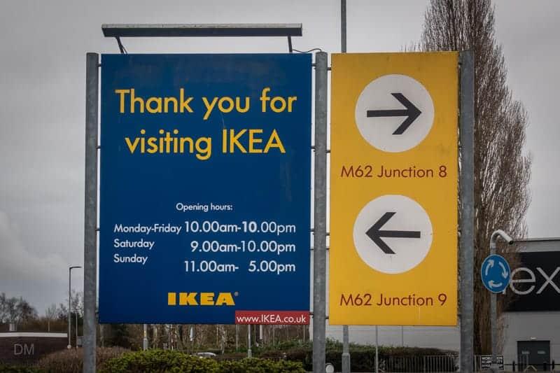 IKEA Warrington opening times