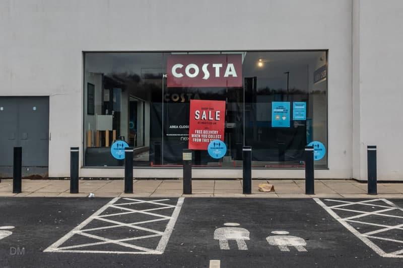 Costa at Next, Warrington