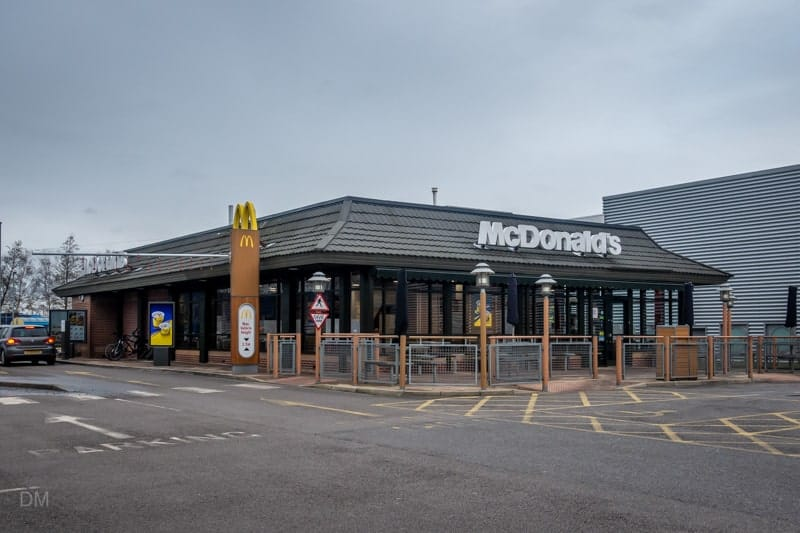McDonald's Gemini Retail Park, Warrington