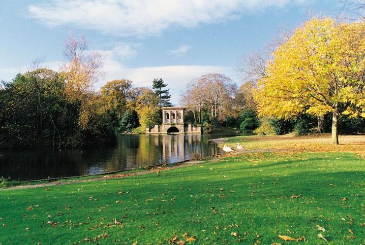 Birkenhead Park, a public park on the Wirral