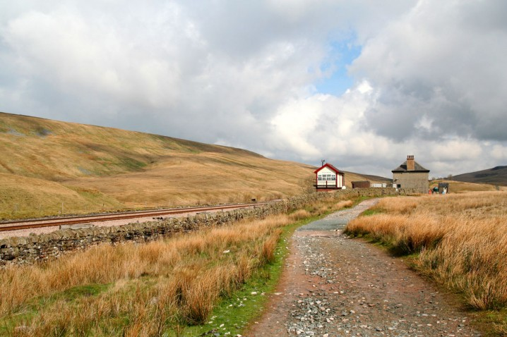 Blea Moor Signal Box on the Settle to Carlisle Railway