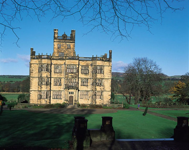 Gawthorpe Hall, historic house in Padiham, near Burnley in Lancashire