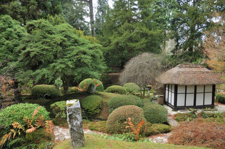The Japanese Garden at Tatton Park in Cheshire